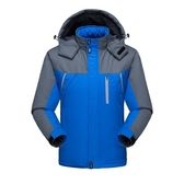 ?冬季衝鋒衣男士棉衣防寒保暖加絨加厚潮牌防風衣外套登山服棉