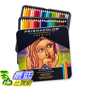 [104美國直購] Prismacolor 3598T Premier Colored Pencils, 48 Assorted Color Pencils 色鉛筆 48色 _TB0