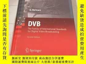 二手書博民逛書店DVB罕見: the family of international standards for digital