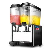 偉焰冷熱飲料機商用自助果汁機雙缸冷飲機熱飲機可樂機三缸全自動igo 3C優購