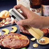 噴油瓶 304不銹鋼噴油壺 噴油瓶 燒烤噴霧食用玻璃油醋瓶 廚房噴霧器油罐