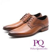PQ 素面側車線紳士德比鞋 男鞋 - 棕(另有黑)