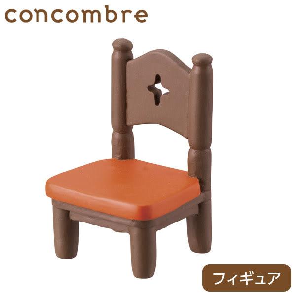 Hamee 日本 DECOLE concombre 昭和喫茶店 療癒公仔擺飾 咖啡店餐椅/橘 586-746878