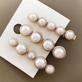 歐風精緻珍珠髮夾 髮飾