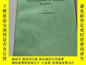二手書博民逛書店AN罕見INTRODUCTION TO THE PRONUNCIATION OF ENGLISH:英語發音入門(外