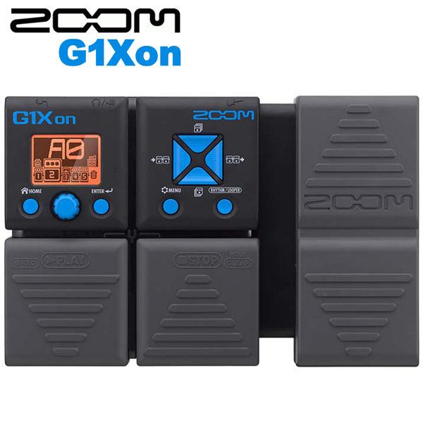 【非凡樂器】ZOOM G1Xon 電吉他綜合效果器 / 內建踏板 節奏機 / 贈整流器&導線 公司貨保固