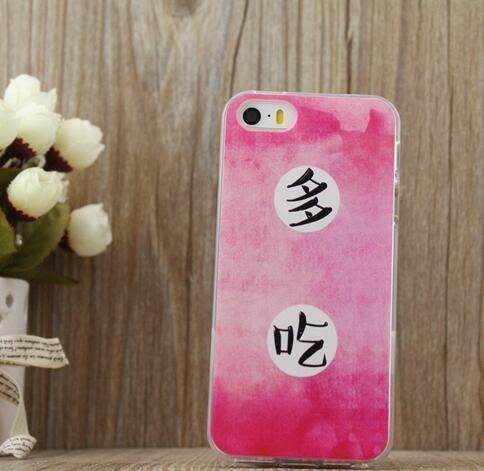 【TT】少食多吃創意趣味情侶殼 TPU全包邊 iPhone 6 6s plus 手機殼 iPhone 6s plus iPhone 5/5S/SE 保護套 軟殼