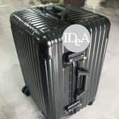 IDEA PC鋁框拉桿運動行李箱20吋 360度靜音萬向輪旅行箱  託運 掛鉤 TSA海關鎖 Sport 型號