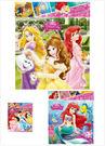 迪士尼公主系列 可愛拼圖/益智玩具/ E...