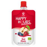 美國 HAPPY HOURS 有機纖果飲/果泥/副食品 (蘋果/藍莓/草莓)100g