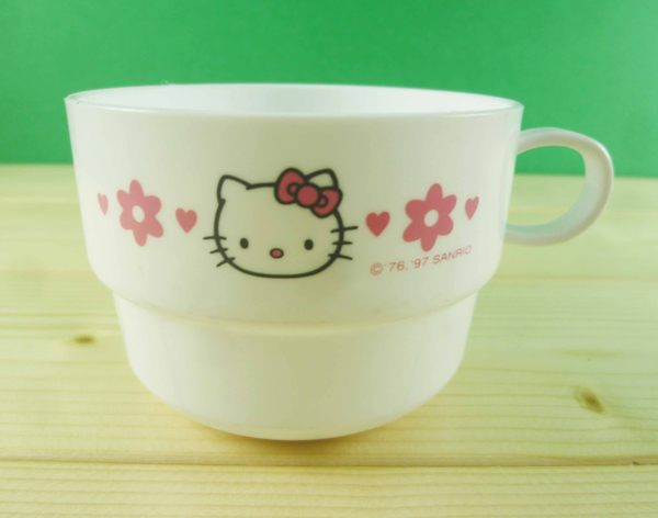 【震撼精品百貨】Hello Kitty 凱蒂貓~杯子~白花