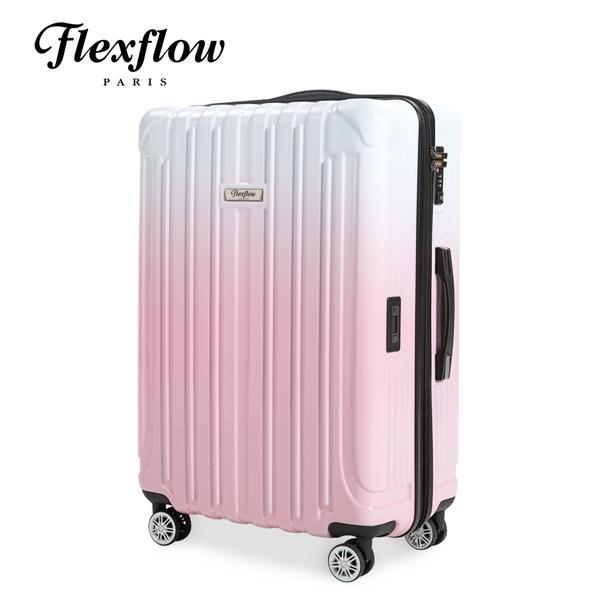 Flexflow 公主色票 29吋 智能測重 可擴充拉鍊  防爆拉鍊旅行箱 里爾系列 29吋行李箱【官方直營】