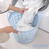 髒衣簍 大號塑料臟衣籃衣簍浴室洗衣籃家用玩具衣物收納籃臟衣服收納筐 HD