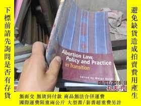 二手書博民逛書店abortion罕見law policy and practic