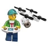 樂高LEGO Minifigures 第20彈 人偶組 人偶包 無人駕駛飛機男孩 拆袋檢查全新販售 71027 TOYeGO 玩具e哥