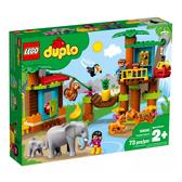 10906【LEGO 樂高積木】得寶幼兒系列  Duplo -熱帶島嶼(73pcs)
