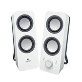 Logitech 羅技 Z200 白色 多媒體 二件式 音響 喇叭