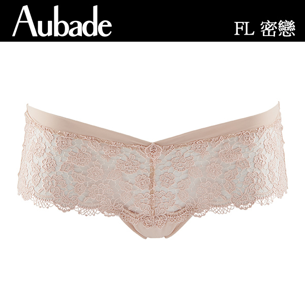 Aubade-密戀B-C 特殊蕾絲有襯內衣(粉肤)FI