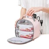 飯盒袋子保溫便當手提包餐小號包裝兒童上班韓國清新女的可愛日式 潮流衣舍