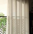 北歐風格麻沙窗簾窗紗 現代簡約美式棉麻紗...