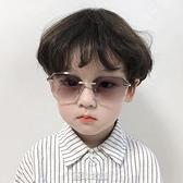 兒童墨鏡韓版潮男女童太陽鏡時尚透明防紫外線3-10歲小孩寶寶眼鏡
