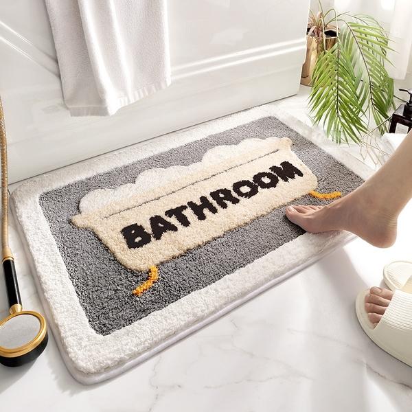 時尚創意地墊311 廚房浴室衛生間臥室床邊門廳 吸水防滑地毯 (40*60cm)