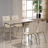 85折免運-食堂餐桌椅組合連身學校學生員工分體4人6人8人快餐飯店經濟型WY