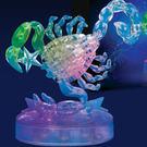 3D立體水晶拼圖 12星座 立體拼圖 (天蠍座-發光) 聖誕節 交換禮物 情人 生日-艾發現