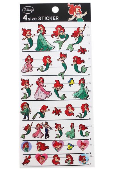 【卡漫城】 小美人魚 貼紙 ㊣版 日版 日本製造 The Little Mermaid 賽巴斯丁 愛麗兒 90元