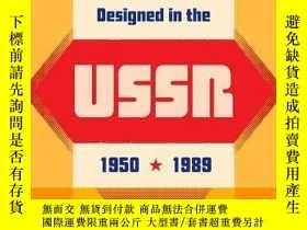 二手書博民逛書店Designed罕見in the USSR: 1950-1989