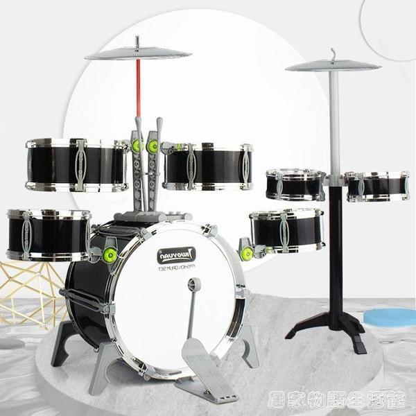 超大號爵士鼓1-3-6歲男寶寶樂器仿真架子鼓玩具兒童 初學者敲打鼓 聖誕節全館免運