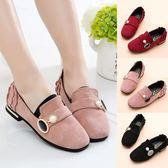 女童鞋新款兒童公主鞋皮鞋韓版豆豆鞋