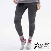 PolarStar 女 遠紅外線保暖褲『黑色』 P18432 休閒│登山│露營│機能衣│保暖衣│衛生衣│家居服