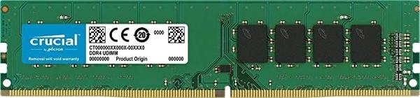 【MACROPC】Micron 美光 Crucial DDR4-2666 16G 原生顆粒 桌上型記憶體