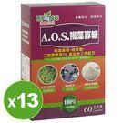 AOS褐藻寡糖(60粒X13盒)優惠組【...