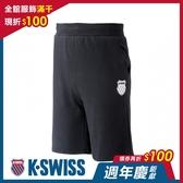 K-SWISS Ks Waist Band Sweat Shorts棉質短褲-男-黑