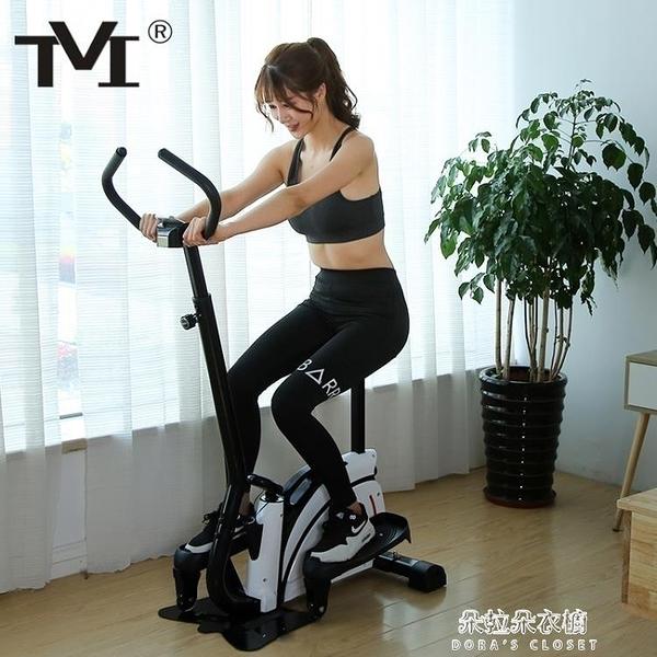 踏步機TVI踏步機靜音家用健身器材慢跑機腳踏機太空漫步橢圓跑步機 元旦特惠