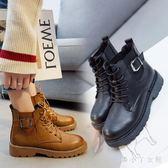 馬丁靴 女英倫風短靴新款學生韓版單靴百搭秋季靴子個性鞋子 df3665【潘小丫女鞋】
