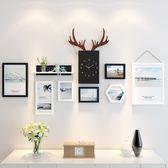 照片牆 照片牆裝飾自粘貼創意客廳相冊相框掛牆組合現代簡約相片牆背景牆T