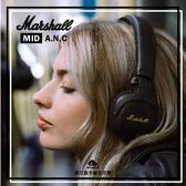 【愛拉風】 MARSHALL MID A.N.C.主動式抗噪藍牙耳機 無線抗躁耳機 黑色 ANC
