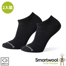 【SmartWool 美國 輕量菁英減震型復古踝襪2入裝《黑》】SW000683/短襪/運動襪