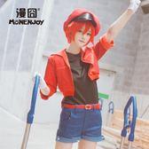 工作細胞cos赤血球紅細胞新番cosplay假發紅色【南風小舖】