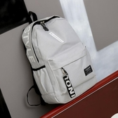 後背包休閒後背包男韓版旅游初中高中大學生書包時尚潮流大容量背包 萬寶屋