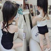 韓版夏季新款中小大女童莫代爾背心吊帶兒童小吊帶衫百搭交叉背心 店家有好貨