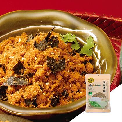 【黑橋牌】自榨豬油,海苔肉酥-小包裝
