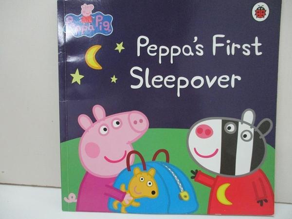 【書寶二手書T3/少年童書_I4M】Peppa s first sleep over_Neville Astley, Mark Baker