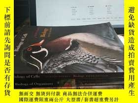 二手書博民逛書店PART罕見1.Biolgy of Cells,2.Biolgy