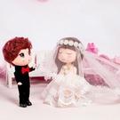 迷糊娃娃公仔,夢幻婚禮系列,一對