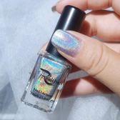 指甲油 偏光鐳射指甲油持久不可剝無毒防潑水星空漸變甲油