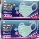 (每人限購3盒) 南六醫用口罩 50入/盒 蘋果綠 醫療口罩 符合國家標準CNS14774 元氣健康館